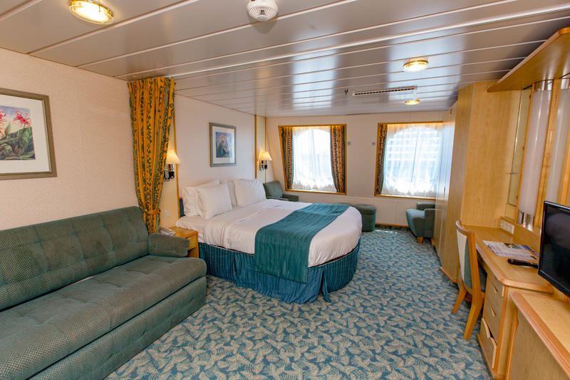 Ultra Spacious Ocean-View Cabin on Mariner of the Seas