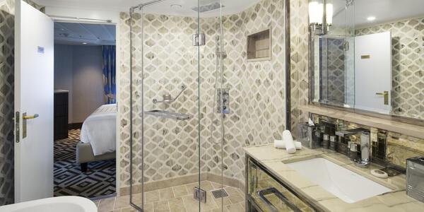 Club Ocean Suite Bathroom on Azamara Journey (Photo: Azamara)