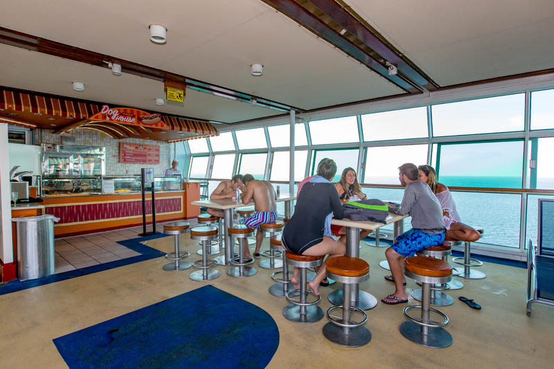 Boardwalk Dog House on Mariner of the Seas