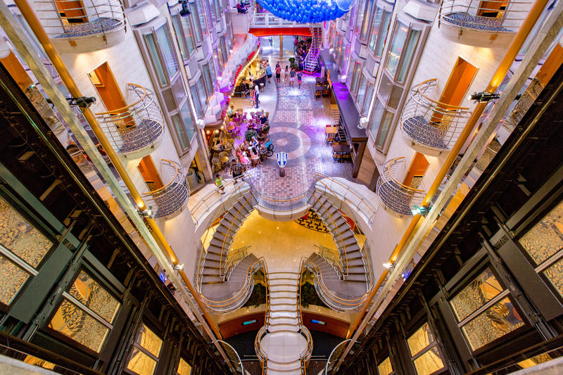 Elevators on Mariner of the Seas