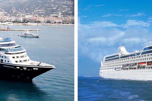 Azamara vs. Oceania (Photo: Azamara & Oceania)