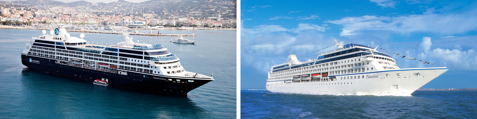 Azamara vs. Oceania (Photo: Azamara & Oceania)