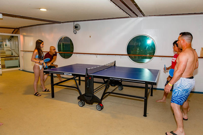 Ping-Pong on Mariner of the Seas