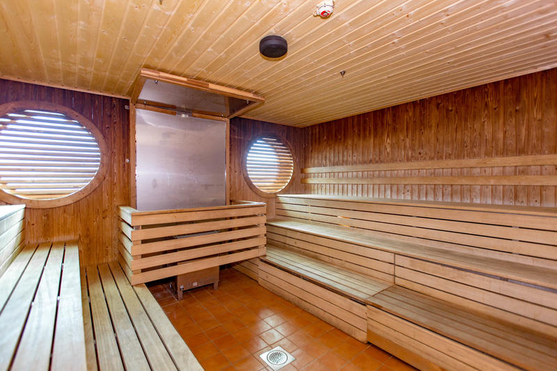 Spa Sauna on Mariner of the Seas