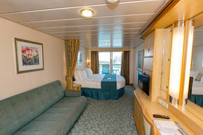 Spacious Ocean-View Balcony Cabin