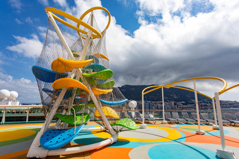 Sky Climber on Independence of the Seas