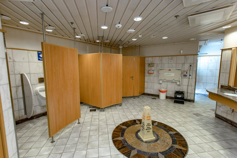 Public Restroom on Independence of the Seas