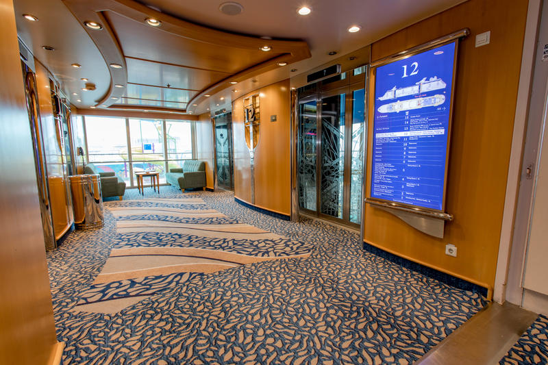 Elevators on Independence of the Seas