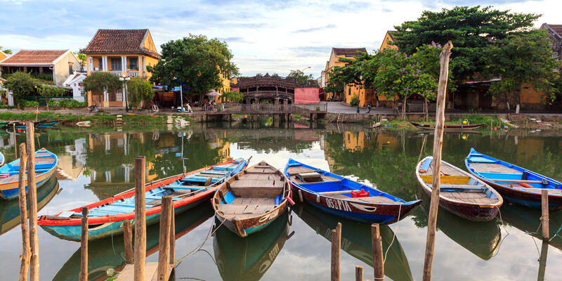 Hoi An, Da Nang, Vietnam (Photo: The South Wind/Shutterstock)