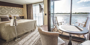 Riviera Travel river ship cabin