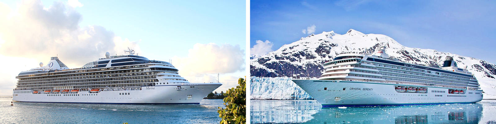 Oceania vs. Crystal Cruises (Photo: Oceania & Crystal)