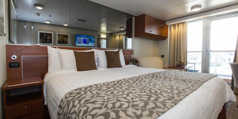 The Verandah Cabin on Nieuw Amsterdam (Photo: Cruise Critic)