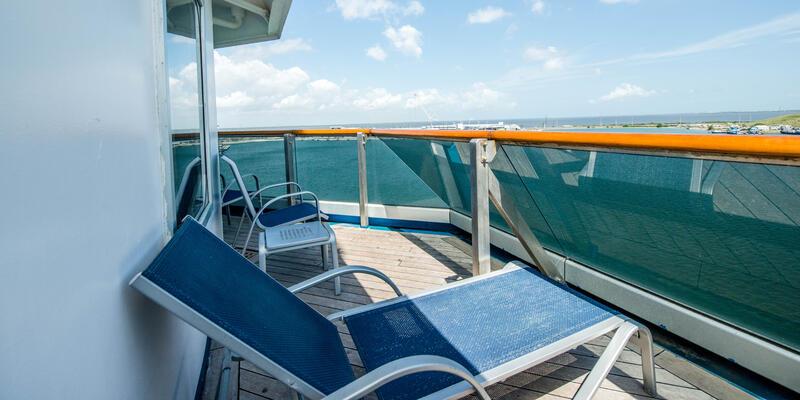 The Premium Vista Balcony Cabin on Carnival Victory (Photo: Cruise Critic)