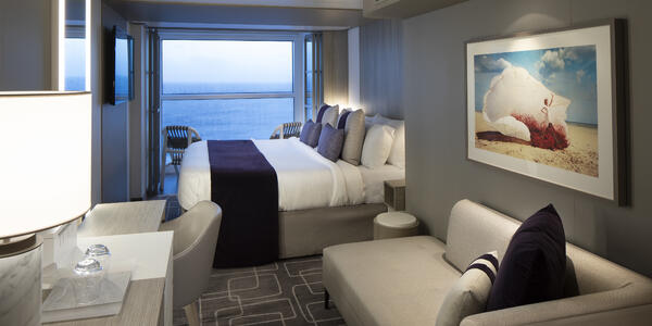 The Edge Stateroom with Infinite Veranda on Celebrity Edge (Photo: Celebrity Cruises)