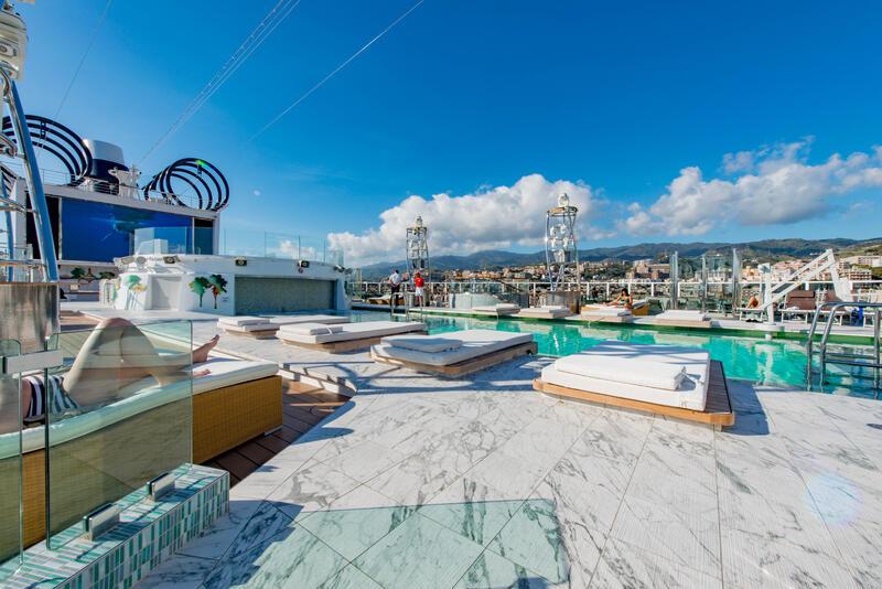 Panorama Pool on MSC Seaview Cruise Ship - Cruise Critic