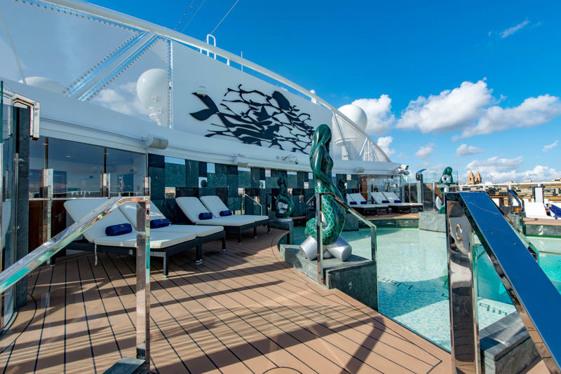 MSC Yacht Club Pool on MSC Seaview Cruise Ship - Cruise Critic
