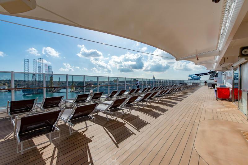 Top 19 Exclusive Solarium on MSC Seaview Cruise Ship ...