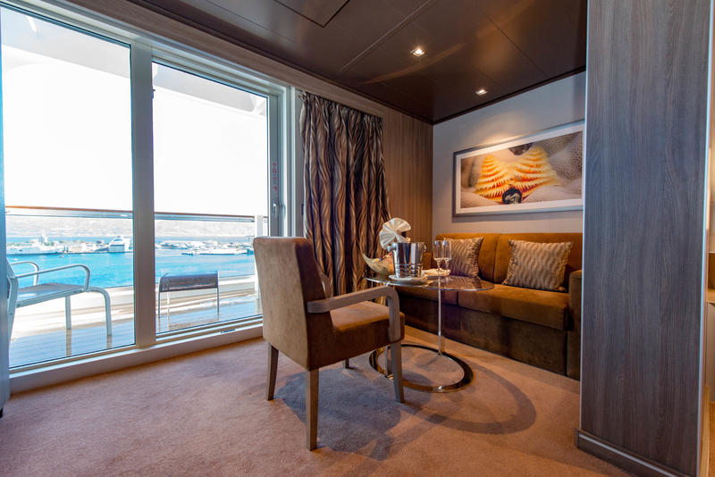 MSC Yacht Club Deluxe Suite on MSC Seaview Cruise Ship ...
