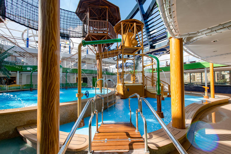 Forest AquaVenture Park on MSC Seaview