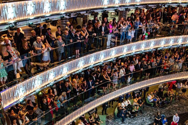 Atrium on MSC Seaview Cruise Ship - Cruise Critic