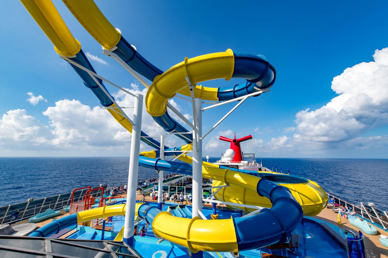 Carnival WaterWorks on Carnival Dream
