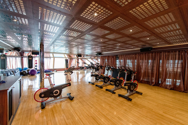 Fitness Center on Carnival Dream
