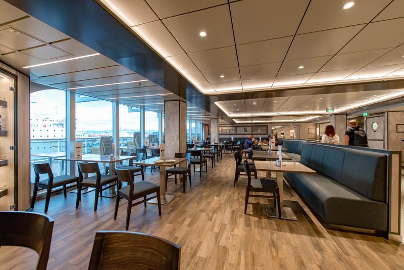 Marketplace Restaurant & Buffet on MSC Seaview Ship ...
