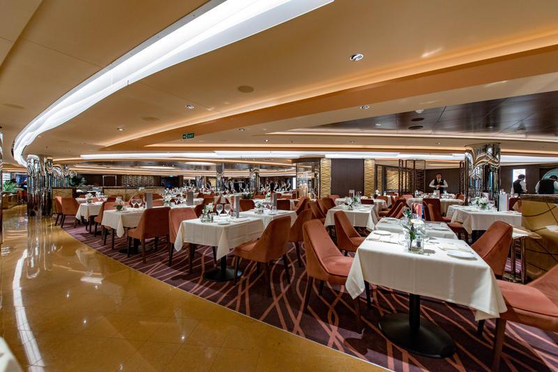 Golden Sand Restaurant on MSC Seaview Cruise Ship - Cruise ...