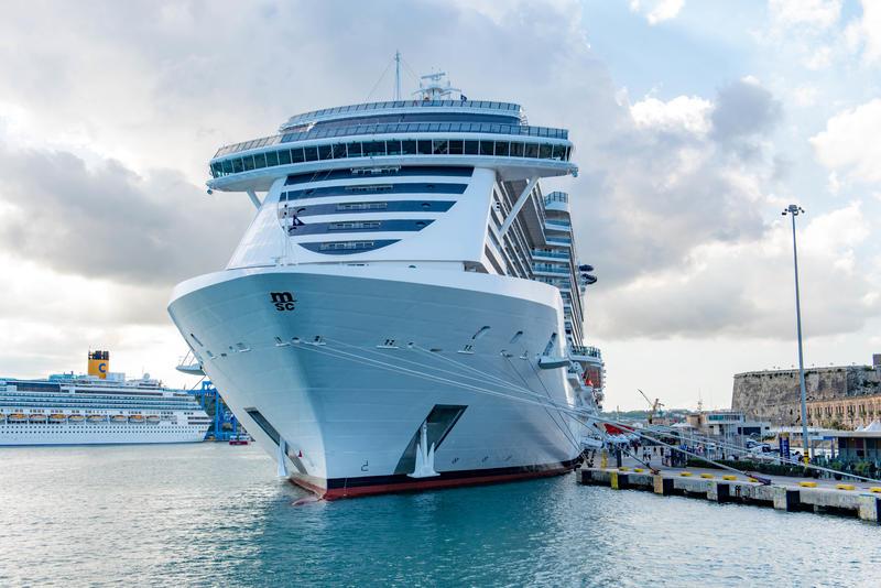Ship Exterior on MSC Seaview Cruise Ship - Cruise Critic