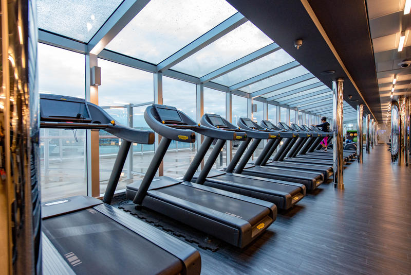 Fitness Center on MSC Seaview Cruise Ship - Cruise Critic