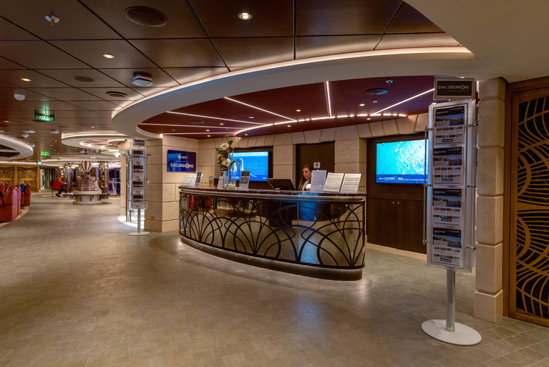 Guest Services on MSC Seaview Cruise Ship - Cruise Critic