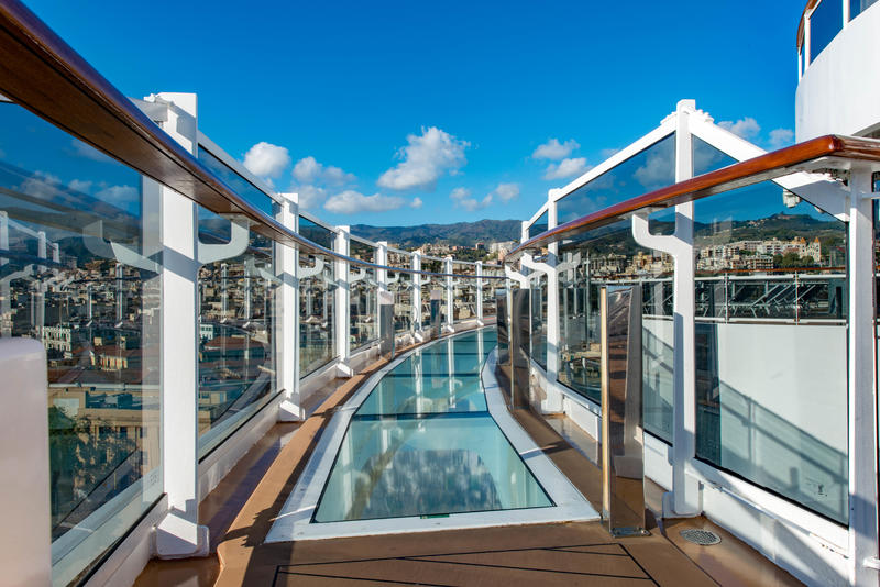 Bridge of Sighs on MSC Seaview Cruise Ship - Cruise Critic