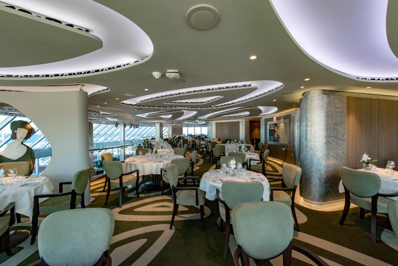 MSC Yacht Club Restaurant on MSC Seaview Cruise Ship ...