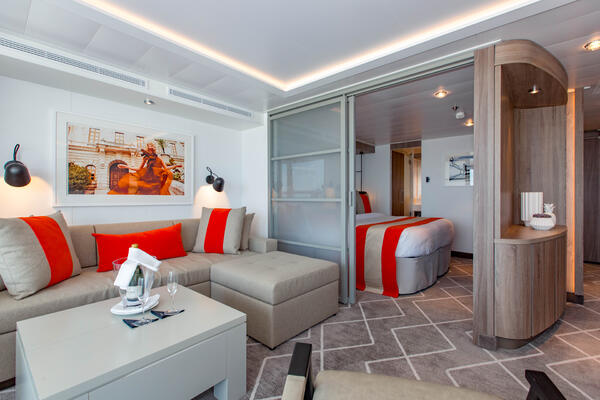 The Celebrity Suite on Celebrity Edge