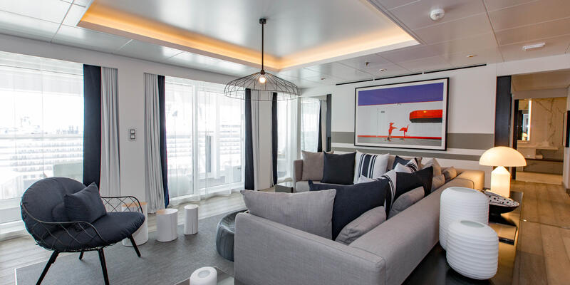 The Penthouse Suite on Celebrity Edge