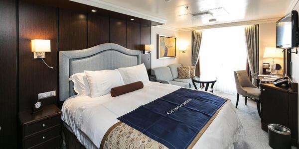 The Veranda Stateroom on Riviera (Photo: Cruise Critic)