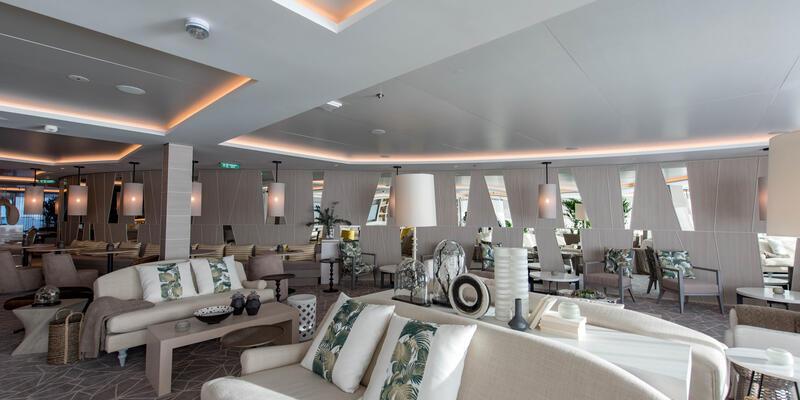 The Retreat Lounge on Celebrity Edge
