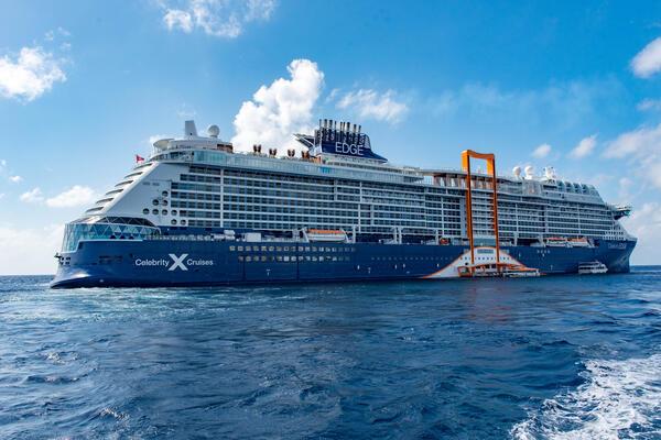 Ship Exterior on Celebrity Edge