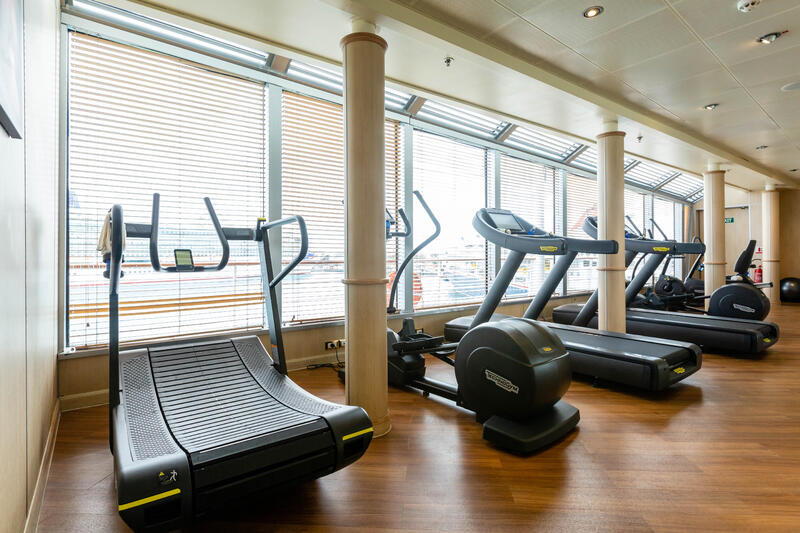 Fitness Center on Silver Wind