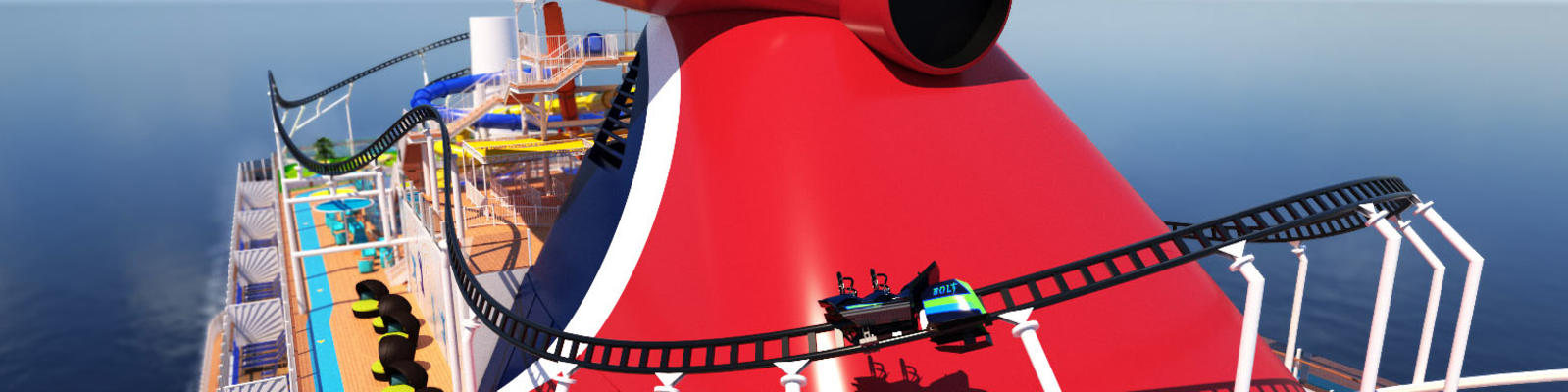 Carnival Cruise Line to Debut the First-Ever Roller Coaster at Sea (Photo: Carnival)
