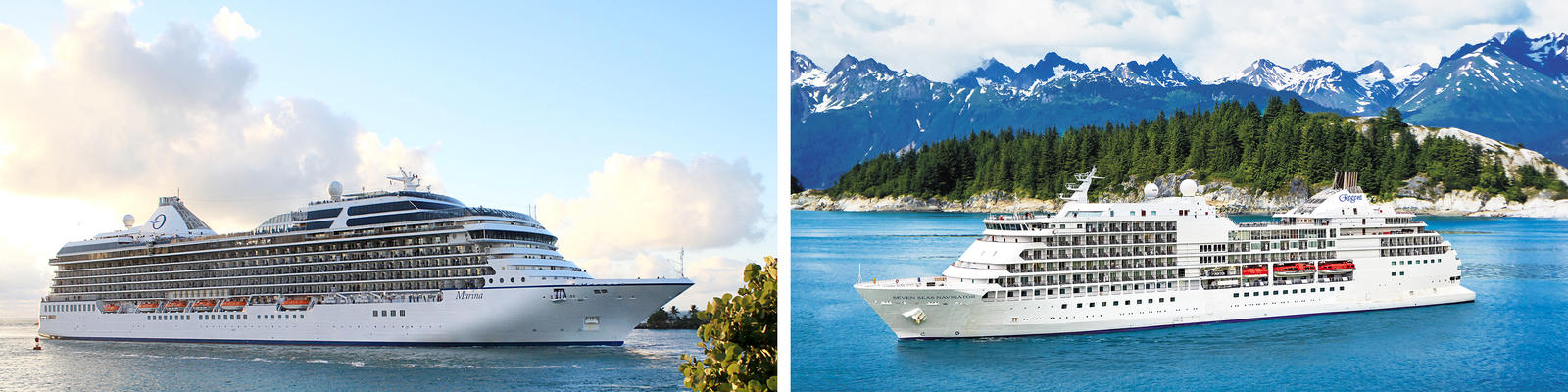 Oceania vs. Regent Seven Seas Cruises (Photo: Oceania & Regent)