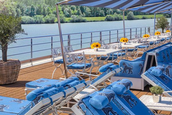 Sun Deck on S.S. Bon Voyage (Photo: Uniworld)