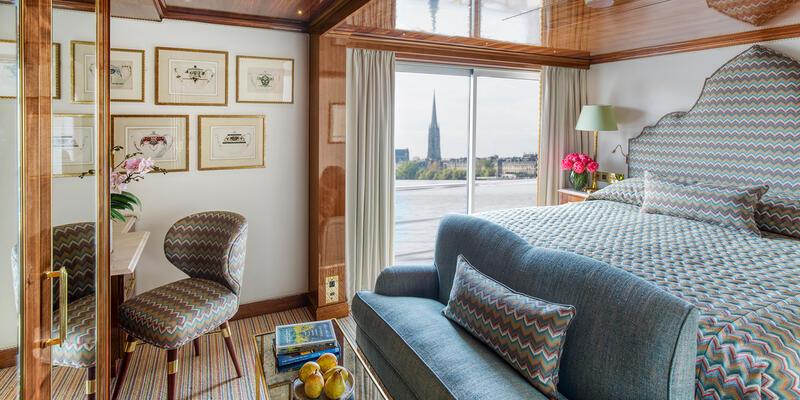 Suite on S.S. Bon Voyage (Photo: Uniworld)