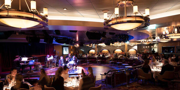 Crystal's Main Entertainment Room (Photo: Crystal Cruises)