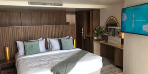 The Ultimate Sky Suite onboard Celebrity Cruises' Celebrity Flora (Photo: Cruise Critic/ Adam Coulter)