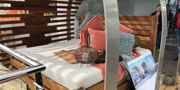 Glamping onboard Celebrity Cruises' Celebrity Flora (Photo: Cruise Critic/ Adam Coulter)
