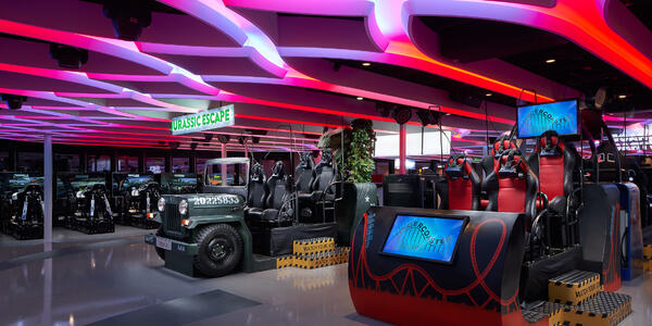 Photograph of the Galaxy Pavilion arcade on Norwegian Joy - Photography supplied by Norwegian Cruise Line