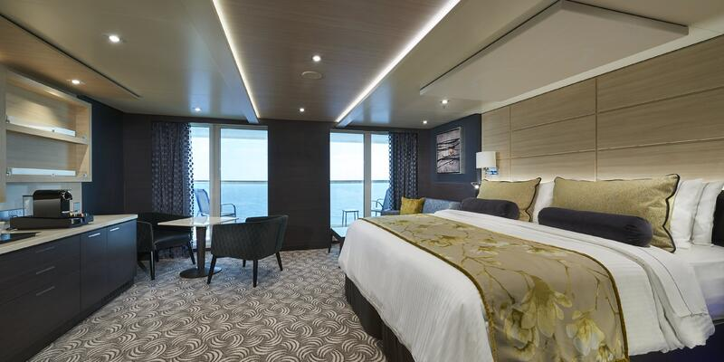 Photograph of the Concierge Family Suite with Balcony on Norwegian Joy - Photography provided by Norwegian Cruise Line