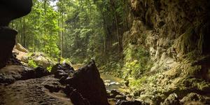 Rio Frio Cave at Mountain Pine Ridge, Belize (Photo: Suzi Prat/Shutterstock)