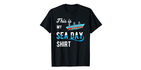 This is my SEA DAY Shirt T-shirt for Cruise Family Vacation (Photo: Amazon)